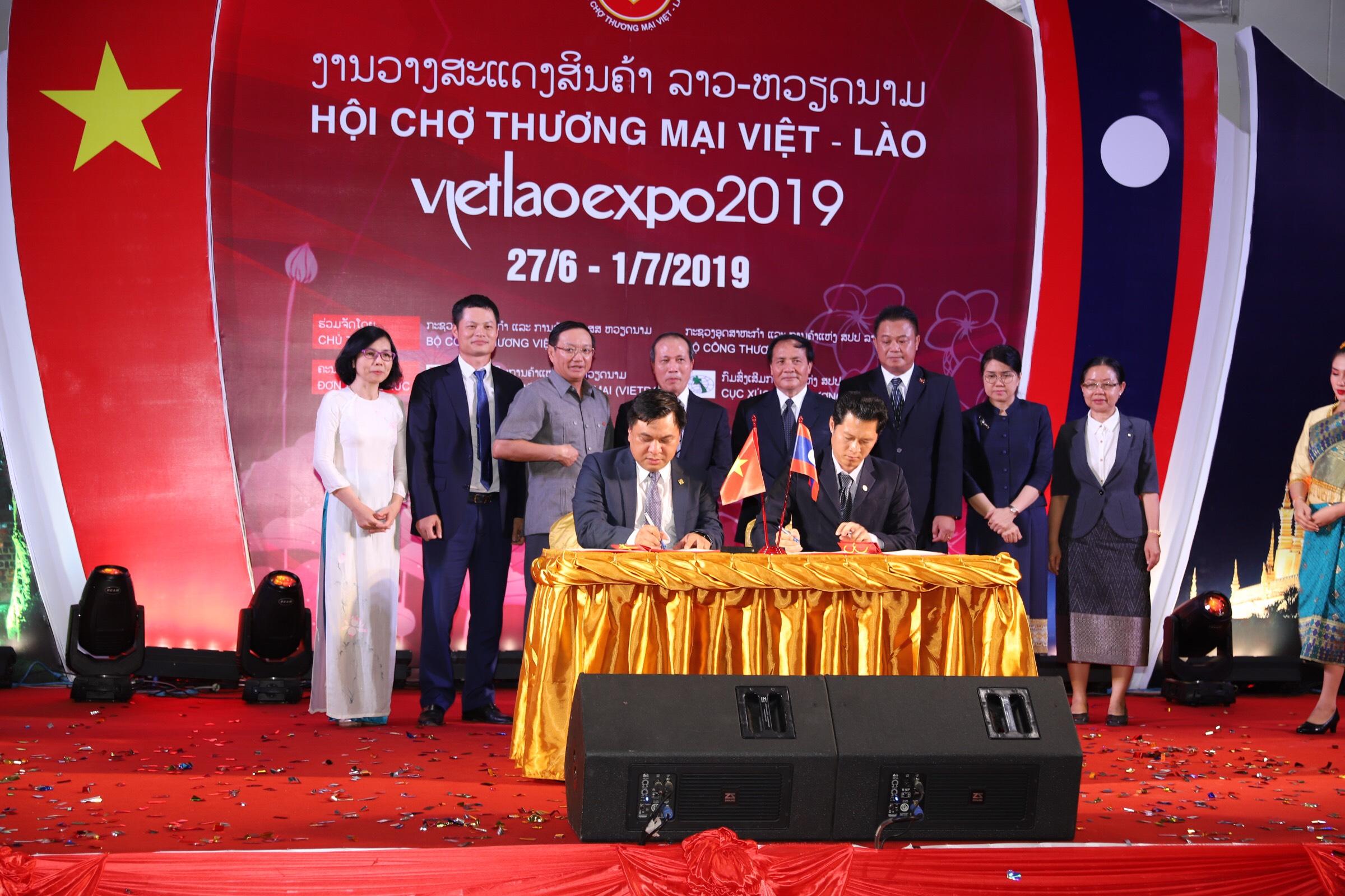 Hội chợ thương mại Việt - Lào năm 2019