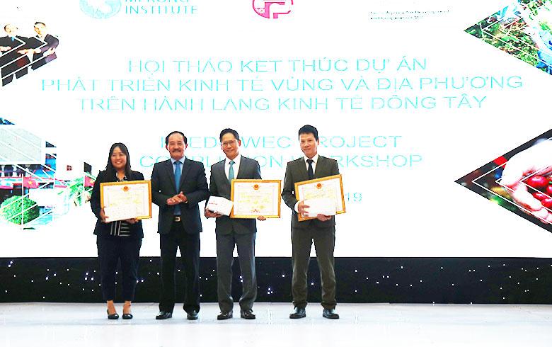 Hội thảo kết thúc dự án Phát triển kinh tế vùng và địa phương trên tuyến hành lang kinh tế Đông Tây