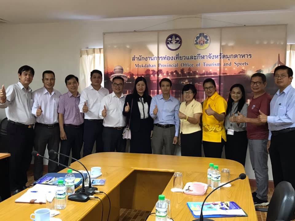 Tổ chức Đoàn Famtrip nhằm thúc đẩy tuyến du lịch tỉnh Quảng Trị và tỉnh Mukdahan (Thái Lan)