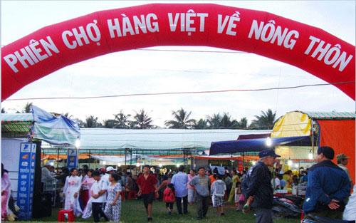 Mời tham gia Phiên chợ đưa hàng Việt về nông thôn, miền núi trên địa bàn tỉnh Quảng Trị năm 2020